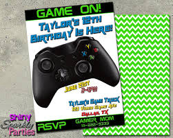 monster truck invitation printable video game themed birthday invitation or game truck
