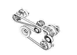 bmw e90 drive belt replacement e91 e92 e93 pelican parts diy