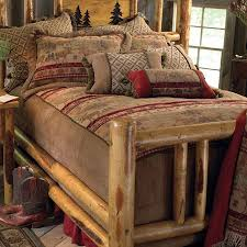 29 best rustic bedding images on pinterest rustic bedding log
