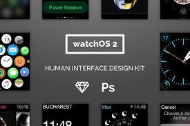 human interface design watchos 2 human interface ui kit web elements creative market