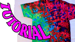 how to tie dye a crinkle or scrunch design full tutorial 11