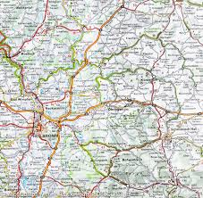 Ulm Germany Map by Map Of Southwestern Germany Michelin U2013 Mapscompany