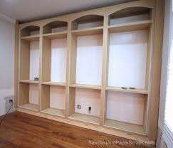 Builtin Bookshelves by Built In Bookshelves For Library Would Put Doors At Bottom Open