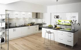 white kitchen cabinets white polished metal frame plus two dining