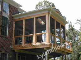 kyle builders custom screened porches in lower michigan