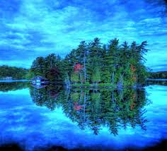 wallpapers predominant 1155cc color island sky trees water cabin