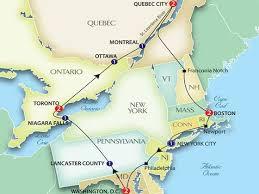 map east coast canada map usa east coast boston east coast usa and canada 560 420