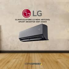 aa wifi climatizzatore lg new artcool smart inverter wifi 12000 btu