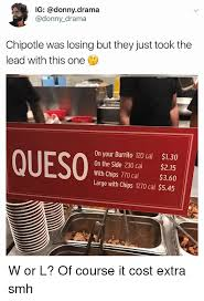 Chipotle Memes - ig chipotle was losing but they just took the lead with this one
