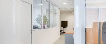 les de bureaux beau cloison de bureau semi vitrée vkriieitiv com