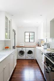 All White Kitchen Cabinets Kitchen All White Kitchen Minimalist White Floating Cabinets In