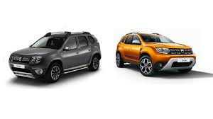 dacia duster side by side comparison motor1 com photos