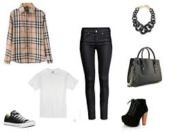 how to wear jeans and a plaid shirt ideas
