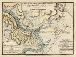 Colonial America 1776 Map by Battle Of Trenton Revolutionary War Map Battlemaps Us