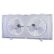 Box Fans Walmart by 9 In Twin Window Fan Fw23 A1 The Home Depot