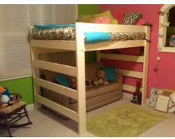 Wooden Loft Bed Plans by Super Heavy Duty Queen Size Loft Bed With 1000 Lbs By Fastelegance
