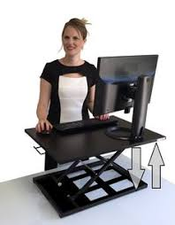 adjustable desks for standing and sitting amazon com workez standing desk conversion kit adjustable