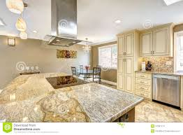 kitchen island with granite top beautiful kitchen island with granite top built in stove and ho