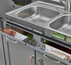 kitchen sink cabinet sponge holder remodel storage options