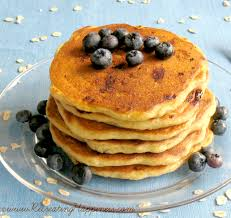 blueberry pancake recipe buttermilk blueberry oat pancakes