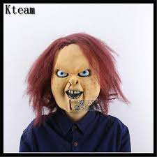 chucky mask party creepy scary chucky mask horror masquerade