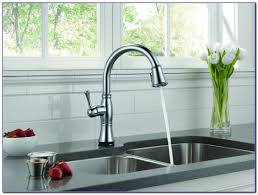 delta cassidy kitchen faucet champagne bronze kitchen set home