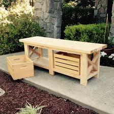 Diy Bench With Storage Diy Crate Storage Bench Craftgawker