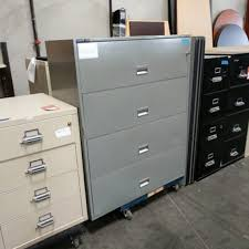 Vertical File Cabinet 4 Drawer by Hon 4 Drawer Vertical Fireproof File Cabinet U2013 Taupe U2013 Used Office