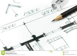 house plan drawing detail stock illustration image 39498750