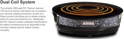 Compact Induction Cooktop Nuwave Pic 1800w Portable Induction Cooktop Countertop Burner