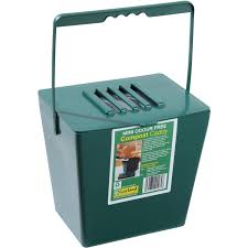 Compost Containers For Kitchen by 1 3 Gallon Kitchen Compost Bin With 1 Free Carbon Filter Walmart Com