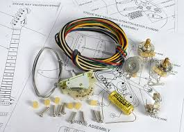 angela premium vintage stratocaster wiring kit with matched cts