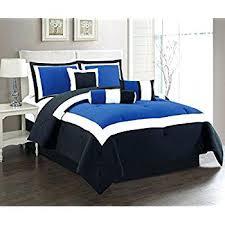 Navy Blue Bedding Set Navy Blue Comforter Set Blue Comforter Sets Size