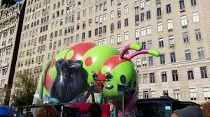 2016 macys thanksgiving day parade balloon inflation on central