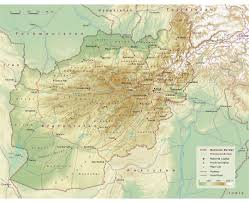 Physical Map Of China by Maps Of Afghanistan Detailed Map Of Afghanistan In English
