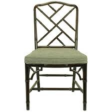 Chippendale Chair by Walnut Chippendale Faux Bamboo Desk Chair At 1stdibs