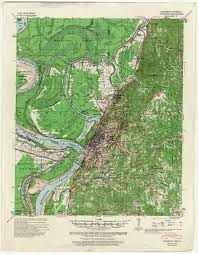 louisiana elevation map mississippi topographic maps perry castañeda map collection ut