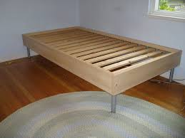 twin bed frame metal how to build a wood twin bed frame loccie better homes gardens ideas