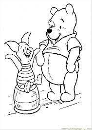 kleurplaat winnie pooh 1 phoo beer