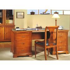 bureau en merisier bureau merisier massif philas meubles elmo