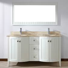 studio bathe bridgeport 60 inch white double bathroom vanity