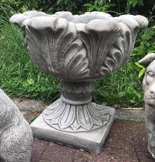 Stone Urn Planter by Large Stone Urns Planters 55 Pair In Everton Merseyside Gumtree