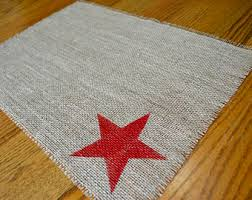 Shabby Chic Placemats by Natural Placemat 12x18 Burlap Placemats Modern Placemats