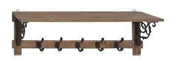 ophelia u0026 co ganesh traditional wall mounted coat rack u0026 reviews