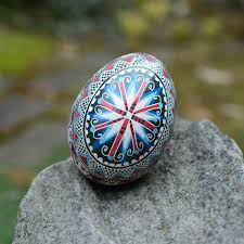 egg decorating supplies pysanky with starburst in traditional ukrainian easter egg pysanky