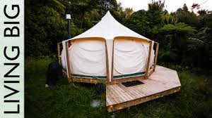 big tent rental escaping the rent trap simple living in a lotus tent