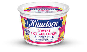 Cottage Cheese Singles by Knudsen Products Cottage Cheese