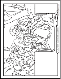 45 Bible Story Coloring Pages Creation Jesus Mary Miracles Children Bible Stories Coloring Pages