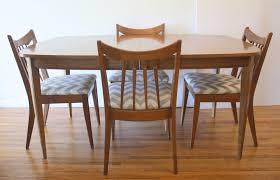 mid century modern dining room table picked vintage