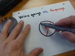 wire size vs amperage youtube